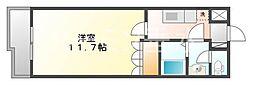 兵庫県加西市北条町北条の賃貸マンションの間取り