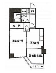 第32宮庭マンション[01008号室]の間取り