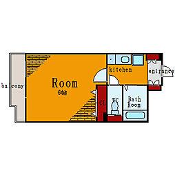 プレール月島RIVAGE[11階]の間取り