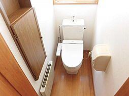 1階のトイレで...
