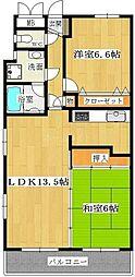 グランビュー薬院[11階]の間取り