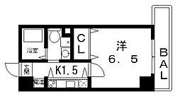 Celeb布施東[402号室号室]の間取り