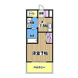 美山住休軒館[1階]の間取り