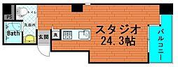 レキシントンスクエア新町[3階]の間取り