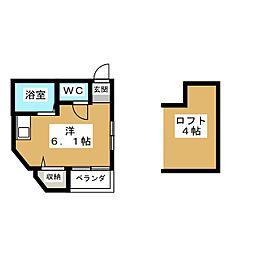 TKスペース[2階]の間取り
