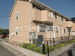 岡山県瀬戸内市長船町土師丁目なしの賃貸アパートの外観