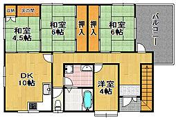 平尾3丁目マンション[3階]の間取り