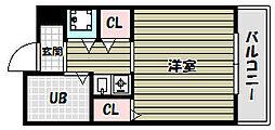 朝日プラザ河内長野デポーフロント[7階]の間取り