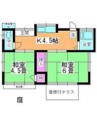 [一戸建] 埼玉県狭山市入間川4丁目 の賃貸【/】の間取り
