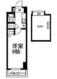 ウインズ浅香I・II[11階]の間取り