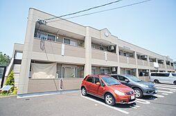 福岡県糟屋郡新宮町緑ケ浜1丁目の賃貸アパートの外観