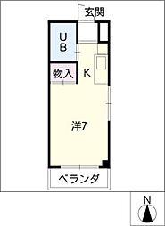 小澤マンション[2階]の間取り