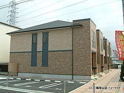 大阪府東大阪市新町の賃貸アパートの外観