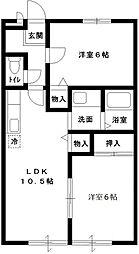 COZY・HOUSE・SOGA[101号室号室]の間取り