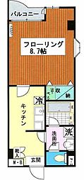 パークプラザ3[1階]の間取り