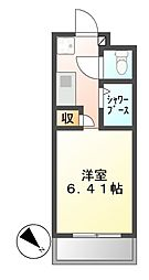 N.S.ZEAL東別院[8階]の間取り
