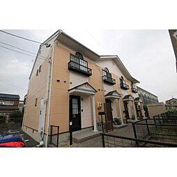 愛知県あま市新居屋上権現の賃貸アパートの外観