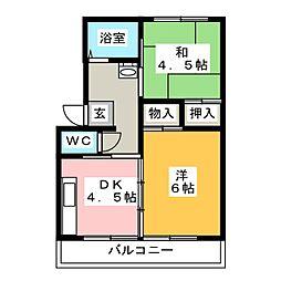 高崎昭和ビル[1階]の間取り