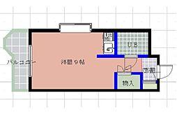 高宮アベニュー[2階]の間取り