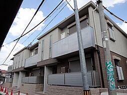 大阪府大阪市東住吉区杭全6丁目の賃貸アパートの外観