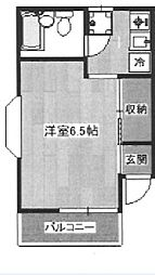 東京都練馬区北町8丁目の賃貸アパートの間取り