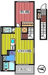 ラフレシール(文蔵)[2階]の間取り
