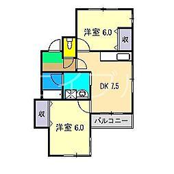 MKビルII[2階]の間取り