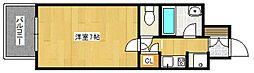 ドミエスポワール久留米III[3階]の間取り