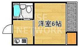 新山荘[107号室号室]の間取り