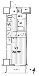 プリモ・レガーロ町田[10階]の間取り