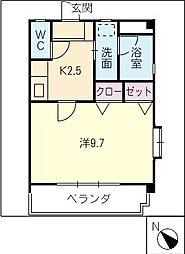 SIECLE21[3階]の間取り