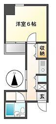 メゾンイマイ[1階]の間取り