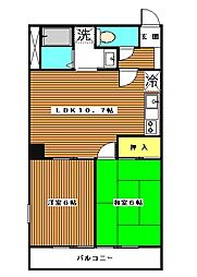 ロイヤルコーポ高島平。[3階]の間取り