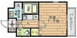 CASSIA福島駅前(旧アーデン福島)[4階]の間取り