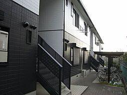 大阪府高石市東羽衣5丁目の賃貸アパートの外観