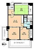 57.52平米・12階部分・角部屋