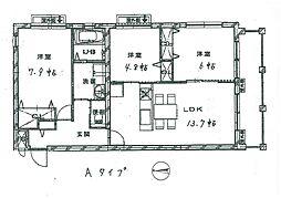三宅町新築マンション[2階]の間取り