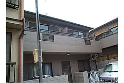 京都府京都市左京区下鴨松ノ木町の賃貸アパートの外観