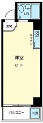 東京都八王子市寺町の賃貸マンションの間取り