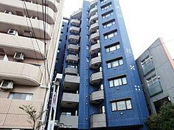 東京都調布市東つつじケ丘1の賃貸マンションの外観