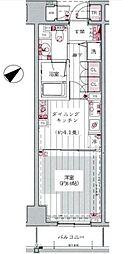 グランブリエ横浜山下公園[5階]の間取り