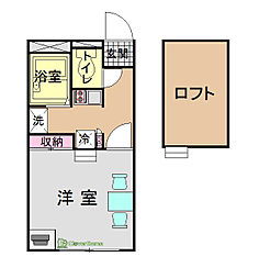 KOIZUMI[204号室]の間取り