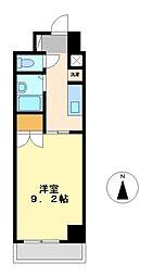 エトワール烏森[2階]の間取り