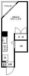 ビクトリアレジデンス[6階]の間取り