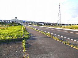 東側 前面道路
