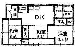 [一戸建] 埼玉県久喜市栗原3丁目 の賃貸【/】の間取り