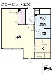 MODULOR社台[2階]の間取り