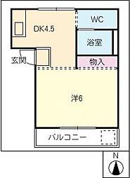 FLAT−K[2階]の間取り