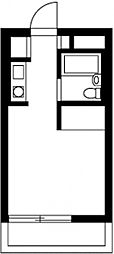 ラ・メゾン横浜[1階]の間取り