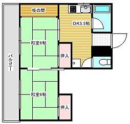 石神マンション[2階]の間取り